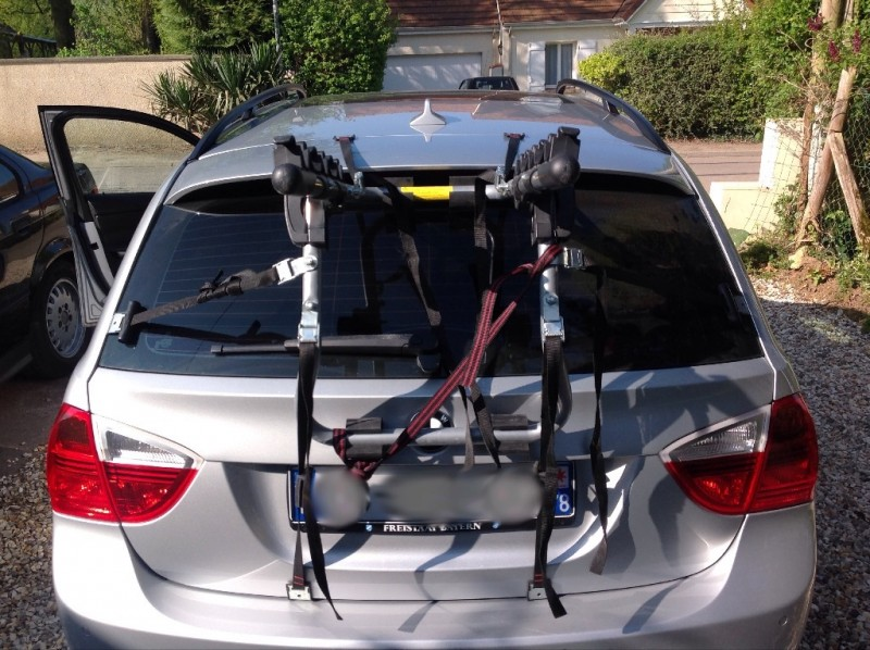 Montage porte velo sur touring bmw - Porte velo pour bmw serie 1 ...