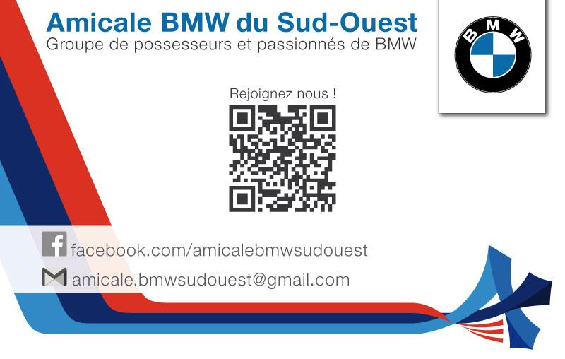 Carte Visite Amicale BMW