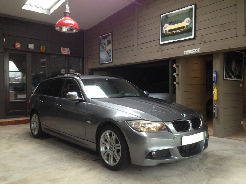 320xd touring lci pack m 2009 coco79 bmw for Garage volkswagen persan