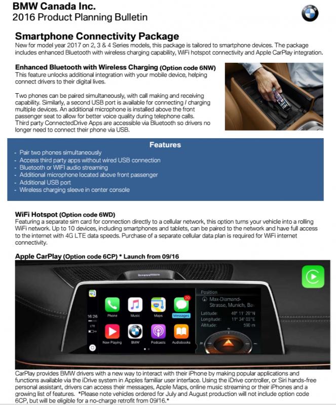 idrive 5 0 apple carplay bmw. Black Bedroom Furniture Sets. Home Design Ideas